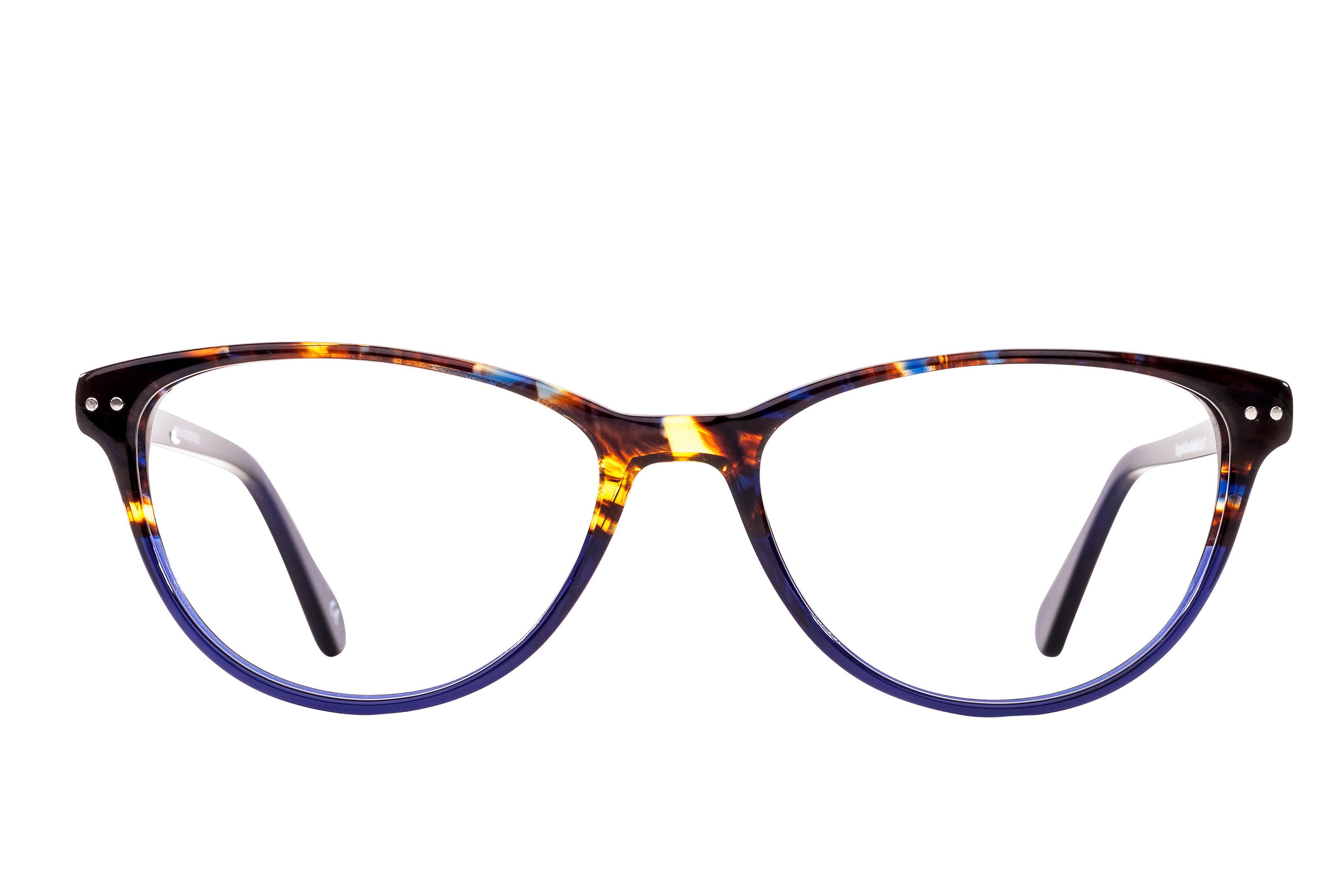 Edgefold Blue-Marble designer glasses   A Family Optician