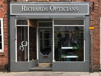 Richards Opticians shop